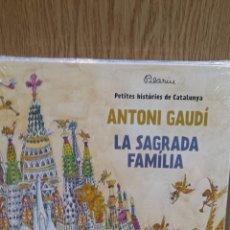 Livros: ANTONI GAUDÍ / LA SAGRADA FAMILIA - DE PILARIN BAYÉS / PRECINTADO.. Lote 58292804