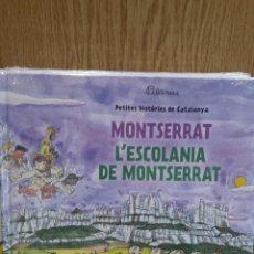 Libros: MONTSERRAT / L'ESCOLANIA DE MONTSERRAT - DE PILARIN BAYÉS / PRECINTADO.. Lote 58292958