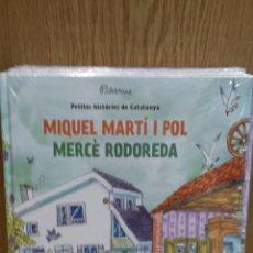 Libros: MIQUEL MARTÍ I POL / MERCÈ RODOREDA - DE PILARIN BAYÉS / PRECINTADO.. Lote 58293002