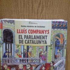 Livros: LLUÍS COMPANYS / EL PARLAMENT DE CATALUNYA - DE PILARIN BAYÉS / PRECINTADO.. Lote 58293056