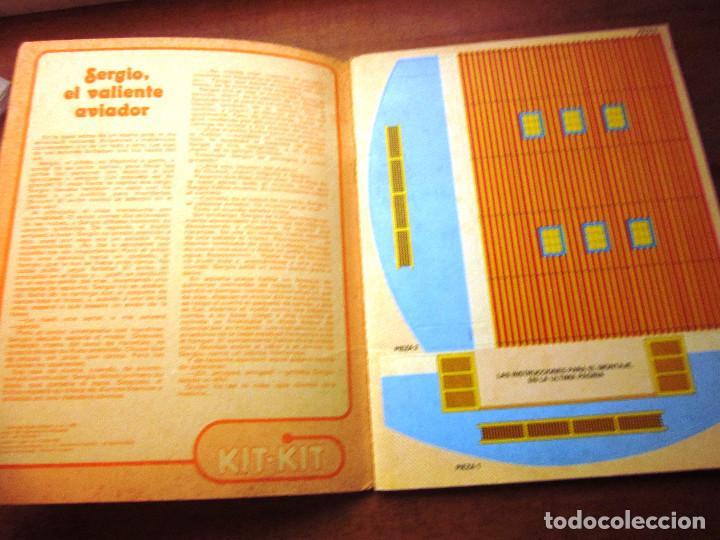 Libros: KIT KIT TROQUELADO BASE AEREA: 1 CUENTO, 4 AVIONES Y 1 BASE AREA. ED. ARCOS BERGARA AÑOS 80 - Foto 2 - 69267497