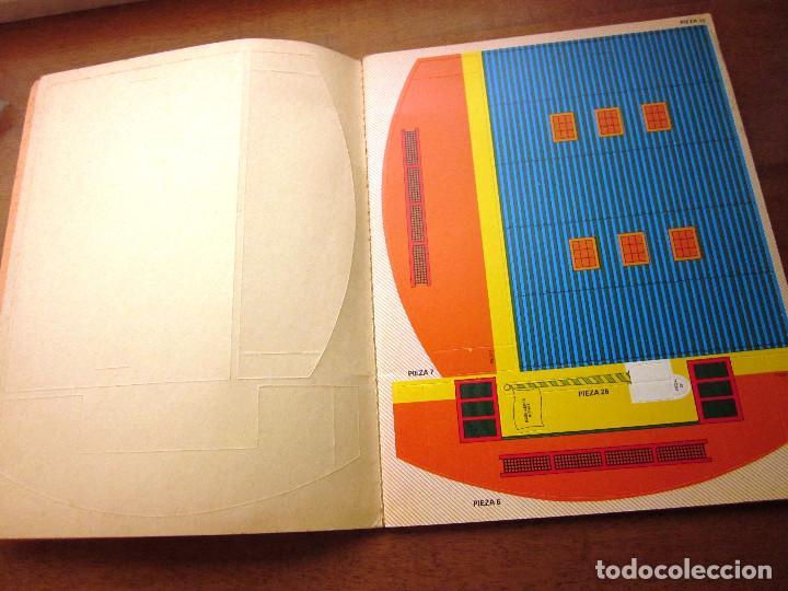 Libros: KIT KIT TROQUELADO BASE AEREA: 1 CUENTO, 4 AVIONES Y 1 BASE AREA. ED. ARCOS BERGARA AÑOS 80 - Foto 3 - 69267497