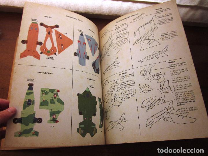 Libros: KIT KIT TROQUELADO BASE AEREA: 1 CUENTO, 4 AVIONES Y 1 BASE AREA. ED. ARCOS BERGARA AÑOS 80 - Foto 5 - 69267497