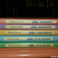 Libros: COLECCIÓN DE 5 LIBROS DE CELIA ESCRITORA ELENA FORTÚN. Lote 78423686