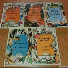 Libros: COLECCIÓN DE 4 CUENTOS ANTIGUOS ANAYA. Lote 78448586