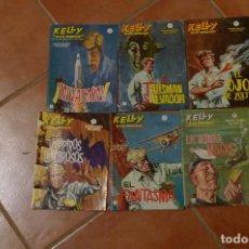Livros: KELLY OJO MAGICO, LOTE 6 NUMEROS, TAMBIEN SUELTOS, 1,2,3,,4, 6,12. Lote 79183725