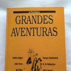 Libros: GRANDES AVENTURAS EL PERIÓDICO TOMÓ 4 ENCUADERNADO CON FASCÍCULOS DE TODA LA COLECCIÓN. Lote 83623178