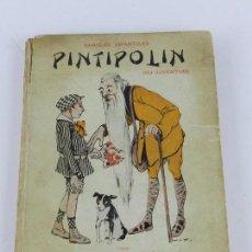 Libros: PINTIPOLIN (SU JUVENTUD), CHARLAS INFANTILES, CRÍSPULO MORO CABEZA, 1918 BIBLIOTECA MORO, PROLOGO DE. Lote 86718560