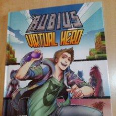 Libros: LIBRO EL RUBIUS VIRTUAL HERO - ILUSTRACIONES DE LOLITA ALDEA - TAPA DURA. Lote 106732482