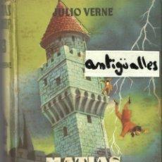 Libros: COLECCION JUVENIL CADETE,JULIO VERNE Nº93,MATIAS SANDORF,AÑO 1958.. Lote 94979679