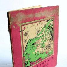 Libros: DE QUAN ESCRIVIEN LES BÈSTIES. LLETRES PER INFANTS- AMAT, MANUEL 1937. Lote 99000651