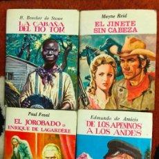 Libros: MINI BIBLIOTECA DE LA LITERATURA UNIVERSAL EDELVIVES 1982. Lote 100549995