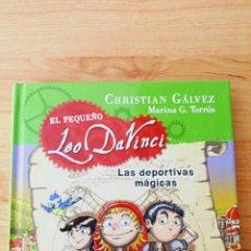 Libros: LIBRO EL PEQUEÑO LEO DAVINCI. Lote 103208163