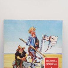 Libros: DON QUIJOTE DE LA MANCHA CÓMIC PARA COLOREAR BIBLIOTECA NACIONAL MUSEO. Lote 109055467