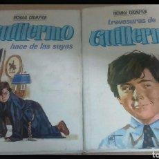 Libros: LAS AVENTURAS DE GUILLERMO. Lote 111012579