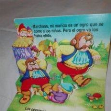 Libros: CUENTO TROQUELADO. COLECCIÓN POP UPS. PULGARCITO. SERVILIBRO. Lote 111002259