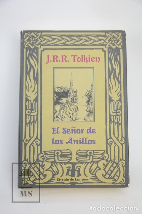 LIBRO TAPA DURA - J.R.R. TOLKIEN / EL SEÑOR DE LOS ANILLOS - CÍRCULO DE LECTORES / MINOTAURO, 2001 (Libros Nuevos - Literatura Infantil y Juvenil - Cuentos juveniles)