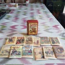 Libros: LOS CUENTOS DE CALLEJA - CUENTOS DE NIÑOS Y NIÑAS - 12 CUENTOS EN UN ESTUCHE. Lote 114431359