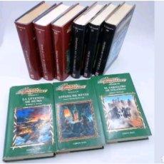 Libros: LOTE 9 LIBROS TRES TRILOGIAS LEYENDAS DE LA DRAGOLANCE. Lote 117178355