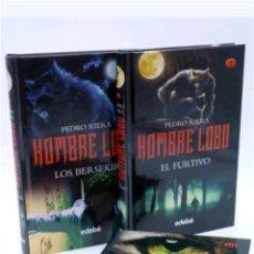 Libros: LOTE 3 LIBROS TRILOGIA HOMBRE LOBO 2011. Lote 117253930
