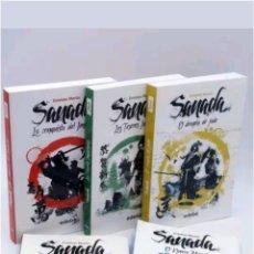 Libros: LOTE 5 LIBROS SAGA SAMADA DEL 1 AL 5 COLECCION COMPLETA 2013. Lote 117253951