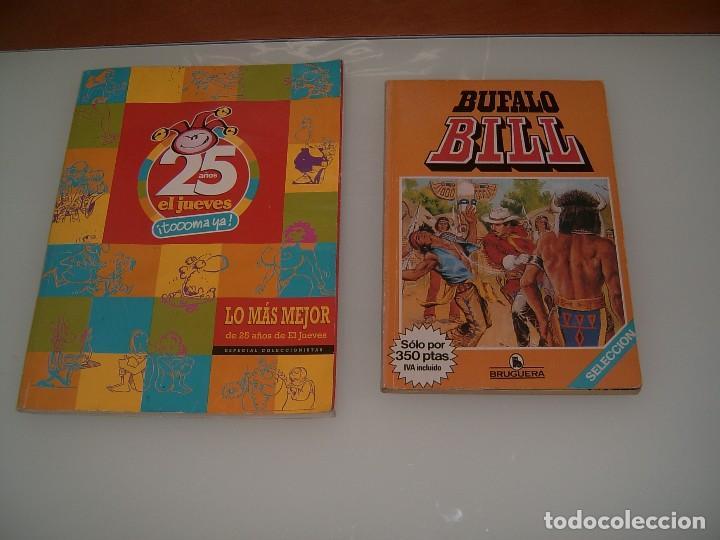 LOTE EL JUEVES Y BUFALO BILL (Libros Nuevos - Literatura Infantil y Juvenil - Cuentos juveniles)