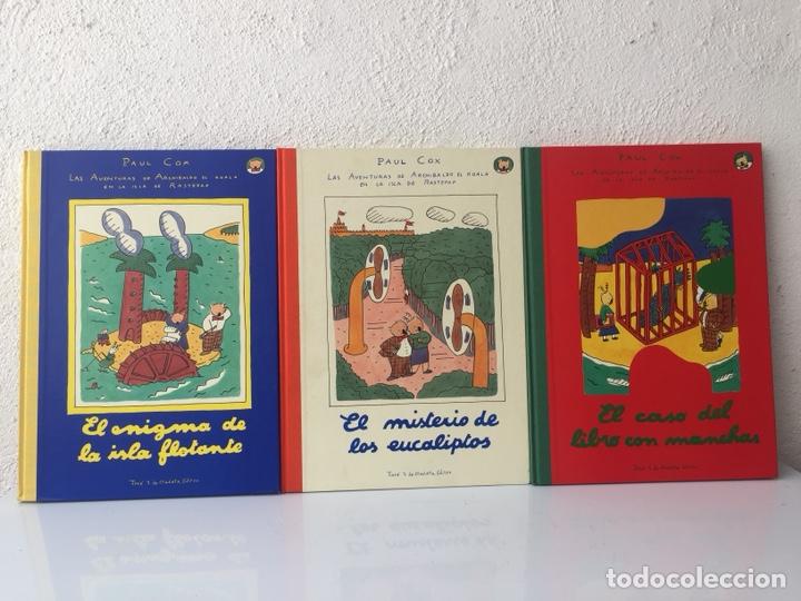 LAS AVENTURAS DE ARCHIBALDO EL KOALA, 3 VOL. 1992 (Libros Nuevos - Literatura Infantil y Juvenil - Cuentos juveniles)