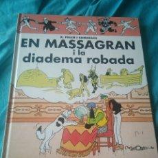 Livros: LIBRO COMIC EN MASSAGRAN I LA DIADEMA ROBADA. Lote 126291938