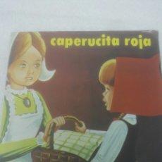 Libros: CUENTO INFANTIL CAPERUCITA ROJA.DEFECTUOSO.VER FOTOS,DE LA ROTURA.ARRUGAS.SUSAETA EDICIONES.1.980.. Lote 126456884