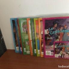 Livros: LOS MEJORES CUENTOS DE SIEMPRE 9 NÚMEROS - CON CD SIN ABRIR. Lote 128029268