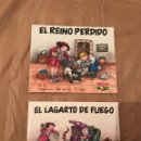 Libros: ERASE UNA VEZ...EL CASERÍO Nº 1 Y 2 - EL REINO PERDIDO - ILUSTRACIONES DE VIOLETA DENOU. Lote 130524870