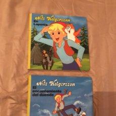 Libros: 2 LIBROS CUENTOS DE NILS HOLGERSSON. Lote 130525091