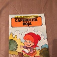 Libros: EDITORIAL ASTRI 1988-CUENTO CLÁSICO CAPERUCITA ROJA-. Lote 130525384