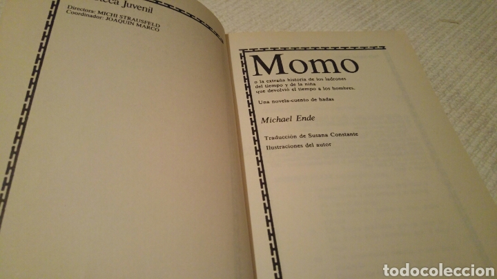 Libros: Momo de Michael Ende - Foto 3 - 130640419