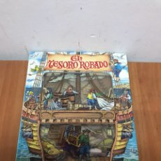Libros: EL TESORO ROBADO UN LIBRO MÁGICO Y MISTERIOSO - STEWART COWLEY. Lote 131079421