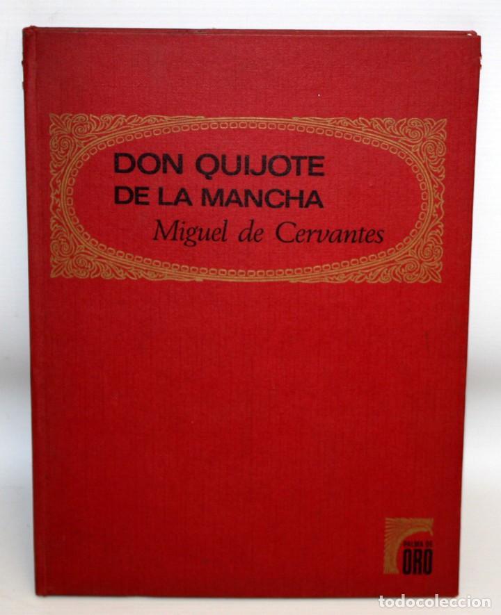 DON QUIJOTE DE LA MANCHA-EDITORIAL BRUGUERA-PALMA DE ORO-1968. (Libros Nuevos - Literatura Infantil y Juvenil - Cuentos juveniles)
