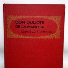 Libros: DON QUIJOTE DE LA MANCHA-EDITORIAL BRUGUERA-PALMA DE ORO-1968.. Lote 134133882
