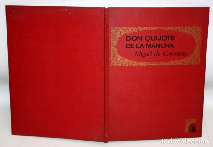 Libros: DON QUIJOTE DE LA MANCHA-EDITORIAL BRUGUERA-PALMA DE ORO-1968. - Foto 2 - 134133882
