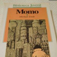 Libros: MOMO DE MICHAEL ENDE. Lote 130640419