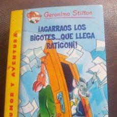 Libros: ¡AGARRAOS LOS BIGOTES...QUE LLEGA RATIGONI!. Lote 136244378