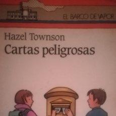 Libros: CARTAS PELIGROSAS. Lote 137668754