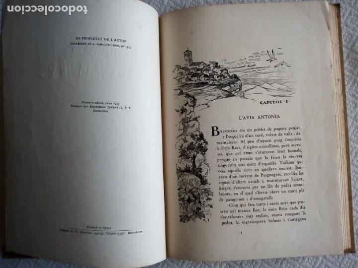 Libros: LA DANSA DE LES FULLES-ANTONI SABATERI MUR- PRIMERA EDIÇIÓ ANY 1937-( CATALÁ) - Foto 2 - 139540590
