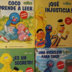 Libros: BARRIO SESAMO LOTE RBA AÑO 2000. Lote 143480078