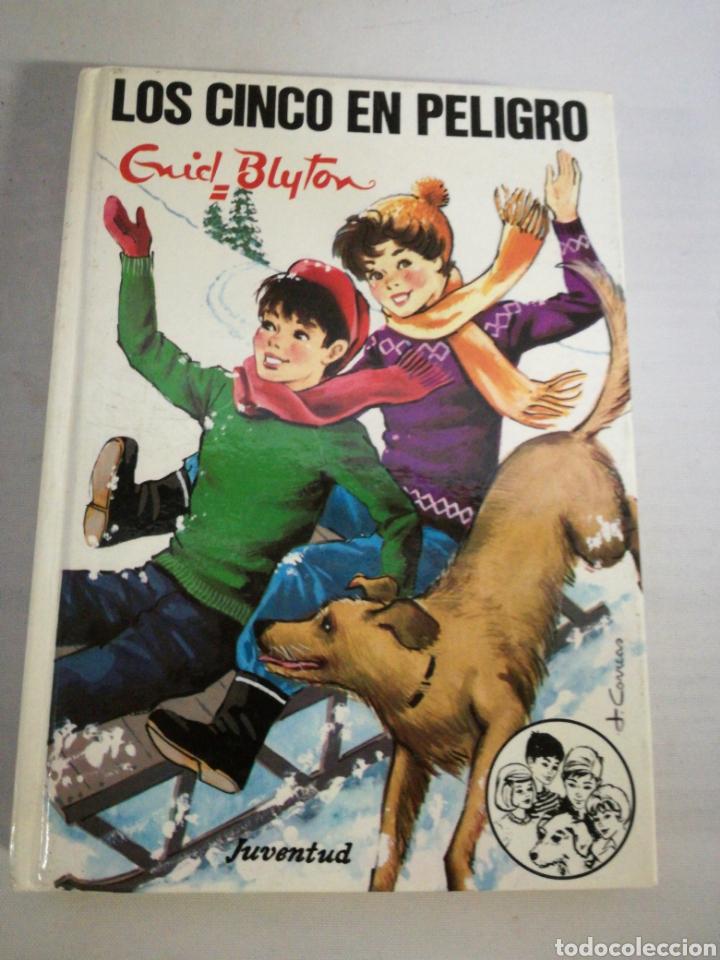 LOS CINCO EN PELIGRO. GRID BLYTON (Libros Nuevos - Literatura Infantil y Juvenil - Cuentos juveniles)