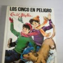 Libros: LOS CINCO EN PELIGRO. GRID BLYTON. Lote 144656345