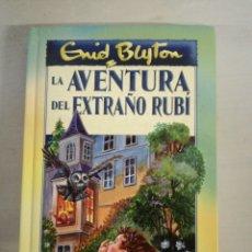 Libros: LA AVENTURA DEL EXTRAÑO RUBÍ. Lote 144656892