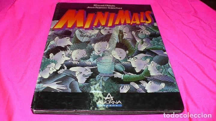 MINIMALS, MIQUEL OBIOLS, JOSÉ RAMÓN SÁNCHEZ, ALIORNA 1988. (Libros Nuevos - Literatura Infantil y Juvenil - Cuentos juveniles)