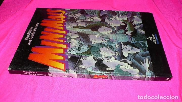 Libros: minimals, miquel obiols, josé ramón sánchez, aliorna 1988. - Foto 4 - 152161678