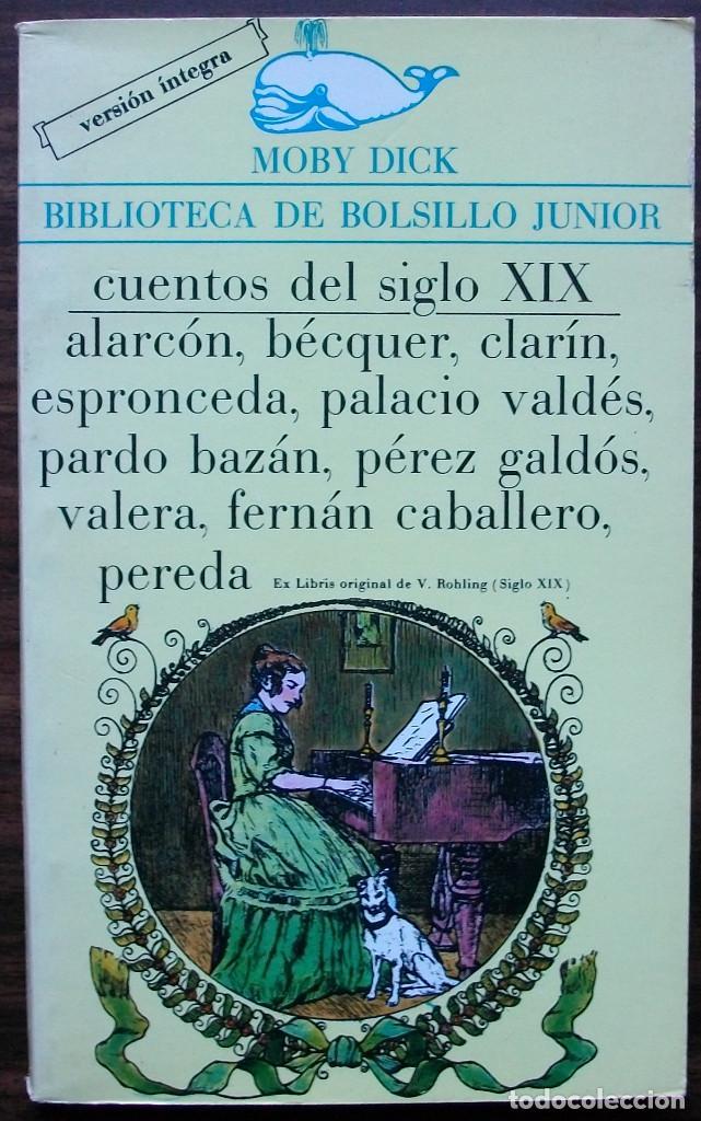 MOBY DICK. CUENTOS DEL SIGLO XIX. (Libros Nuevos - Literatura Infantil y Juvenil - Cuentos juveniles)