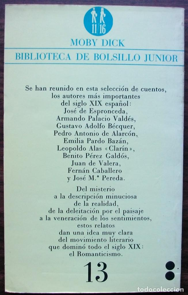 Libros: MOBY DICK. CUENTOS DEL SIGLO XIX. - Foto 2 - 152525642